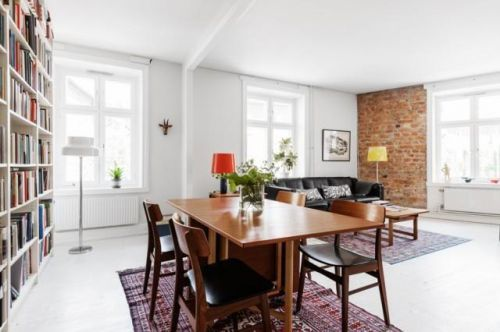 北欧客厅收纳设计方案