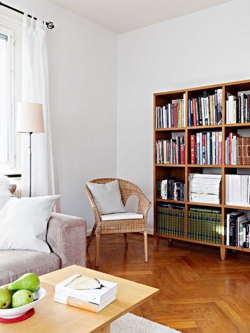 北欧书房收纳设计案例展示