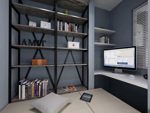现代简约北欧书房设计案例