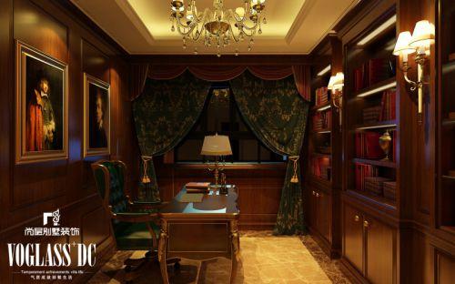 欧式欧式风格书房装修案例