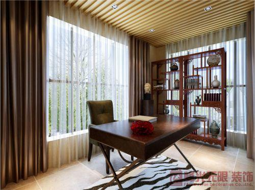 中式书房装修案例