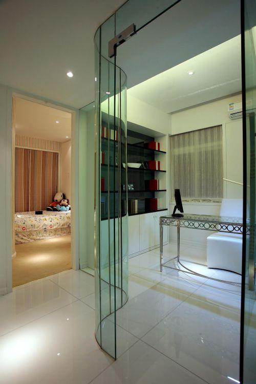 现代简约卧室书房设计案例