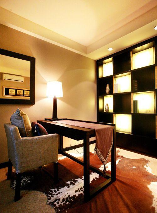 现代简约中式书房设计案例展示