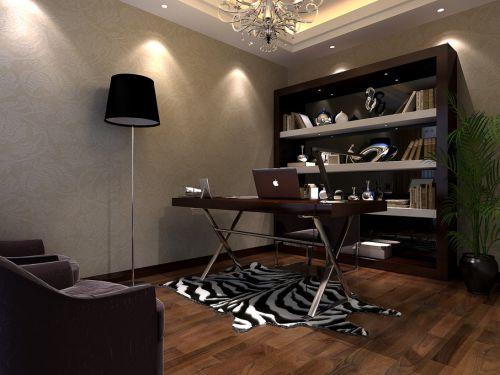 现代简约现代简约简约风格现代简约风格书房设计案例展示