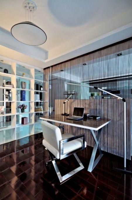 现代简约现代简约书房设计图