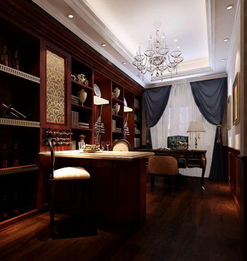 欧式古典书房装修案例