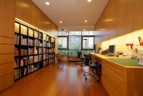 现代简约现代简约简约风格现代简约风格书房设计图