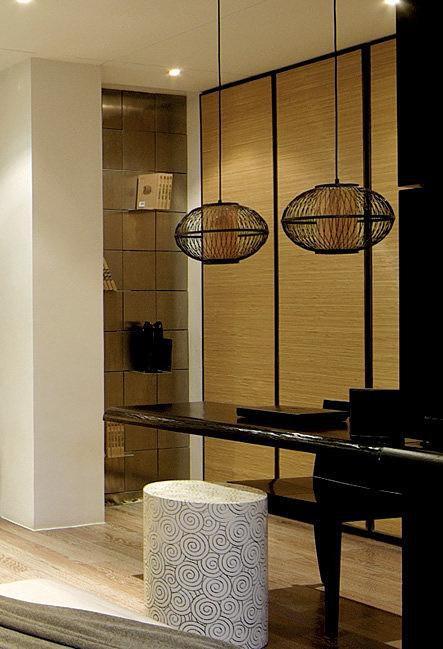 现代简约中式书房设计案例