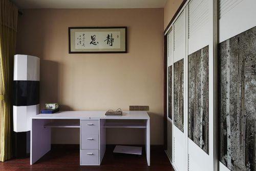 现代简约中式书房效果图