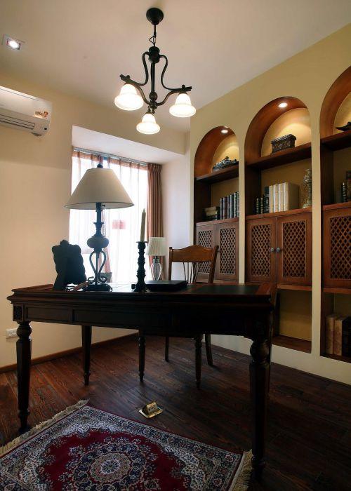 美式书房装修案例
