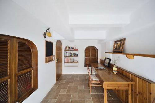 地中海美式混搭书房设计方案