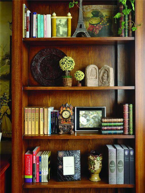 美式书房图片