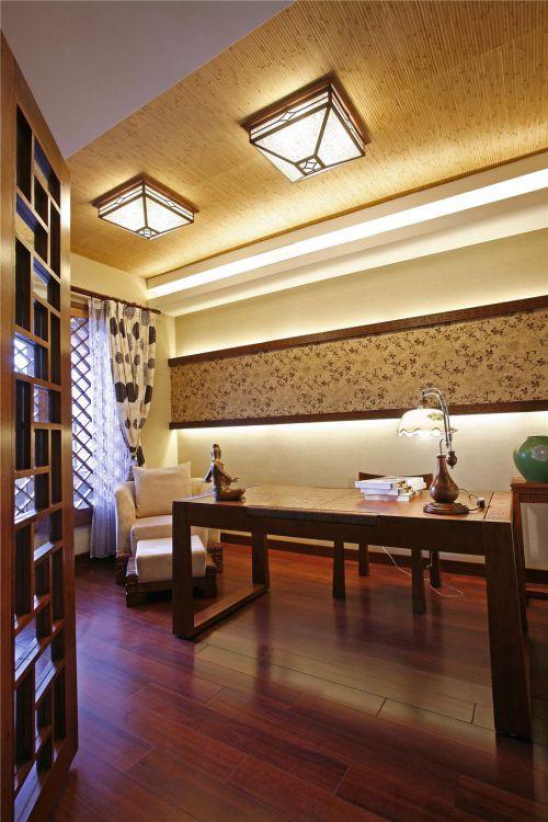 东南亚书房设计方案