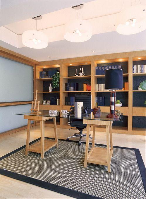 美式美式风格书房设计案例