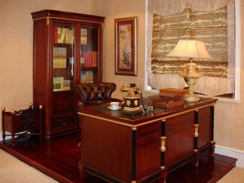 美式美式风格书房装修案例