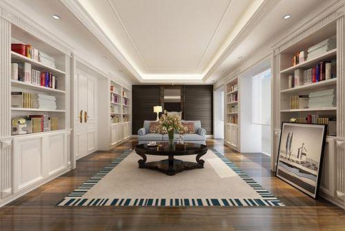 美式美式风格书房装修图