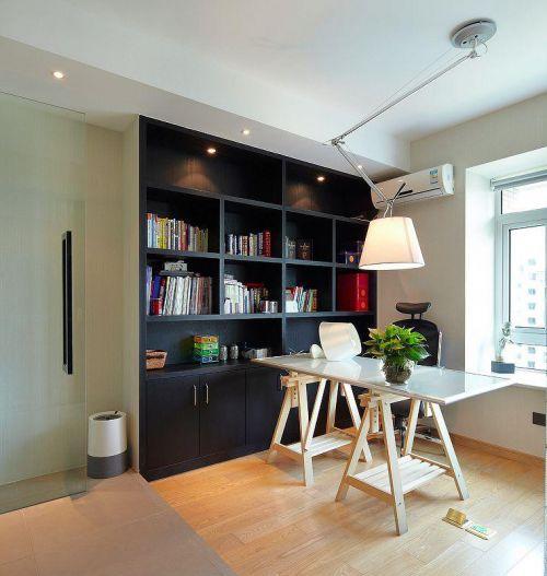 现代简约书房设计图