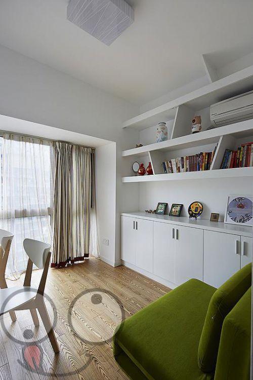 现代简约清新书房设计案例展示