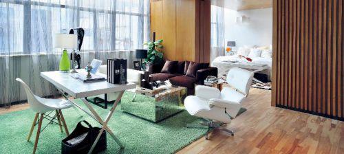 现代简约书房设计方案