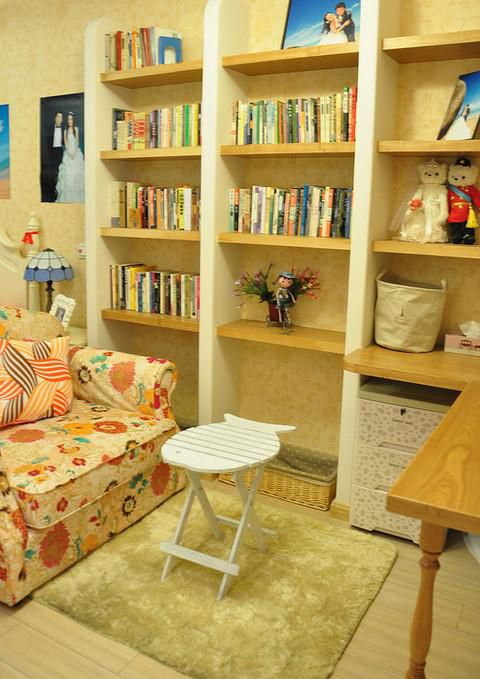 地中海混搭书房图片