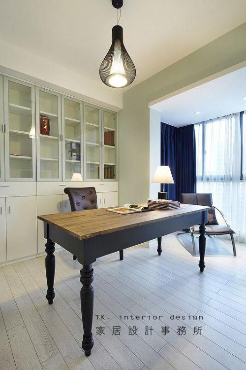 现代简约日式美式混搭书房设计案例展示