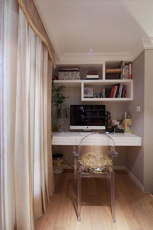 欧式新古典混搭书房设计案例展示