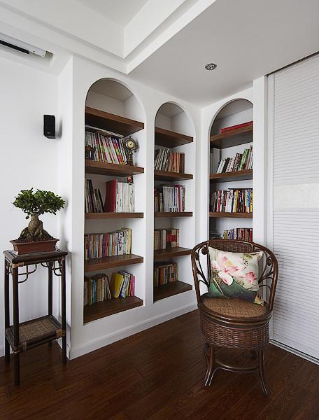 田园美式混搭书房图片