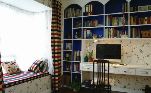 地中海书房设计案例展示