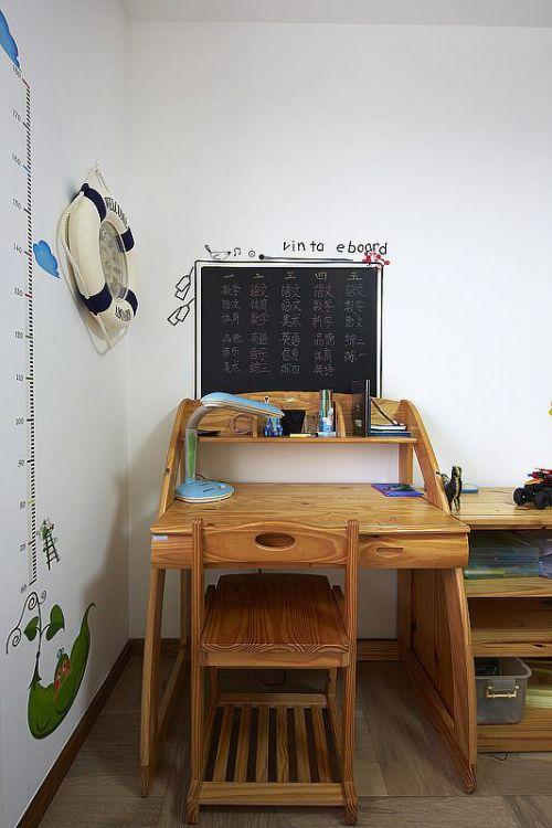 欧式简欧清新书房装修效果展示