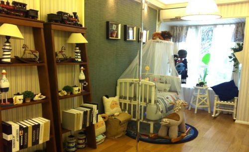 地中海书房儿童房设计案例展示