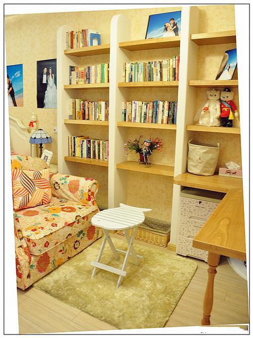 地中海复古书房设计图