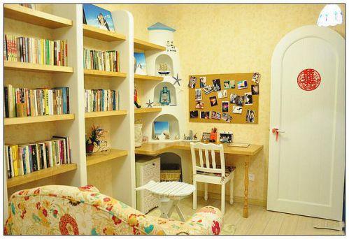 地中海复古书房装修案例