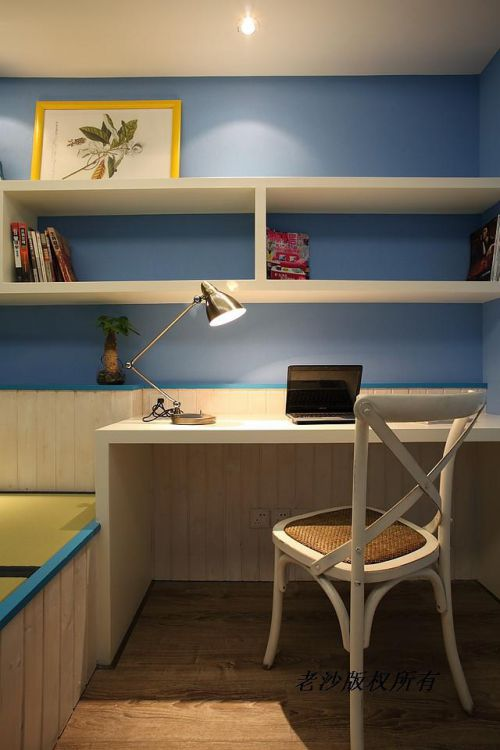 地中海美式书房装修案例