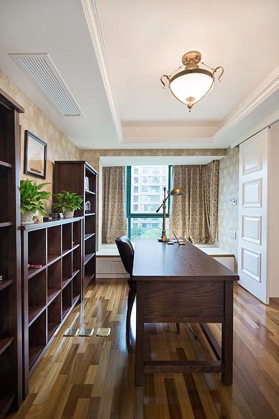 新古典美式混搭精致书房设计案例展示