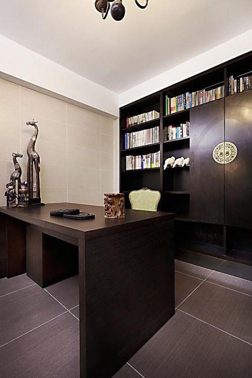 新古典美式精致后现代书房装修效果展示