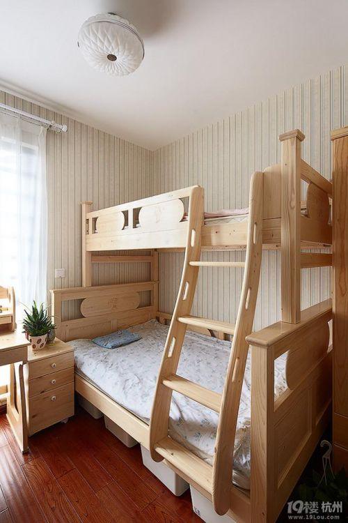 混搭儿童房背景墙设计图