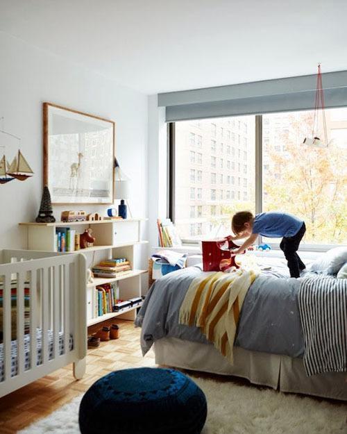 现代简约北欧儿童房设计案例