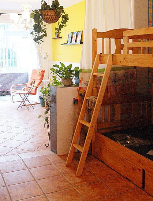 日式混搭儿童房效果图