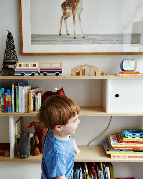 现代简约北欧儿童房设计方案