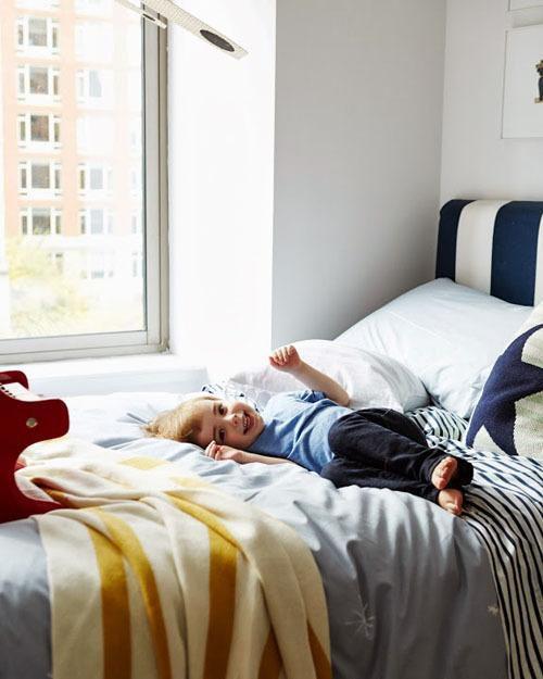 现代简约北欧儿童房效果图