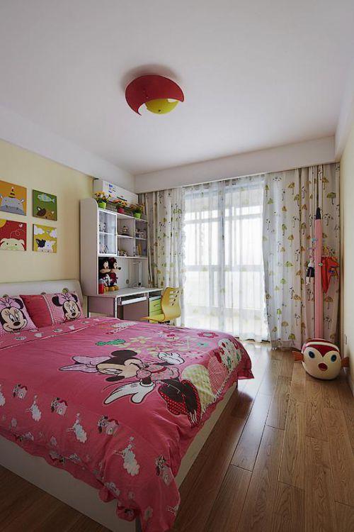 现代简约北欧儿童房设计案例展示