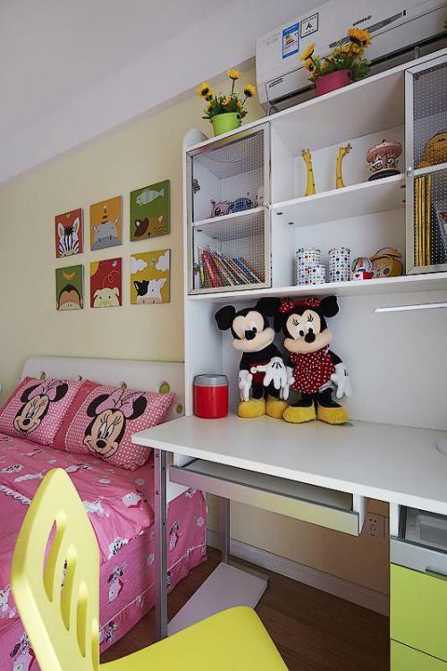 现代简约北欧儿童房图片
