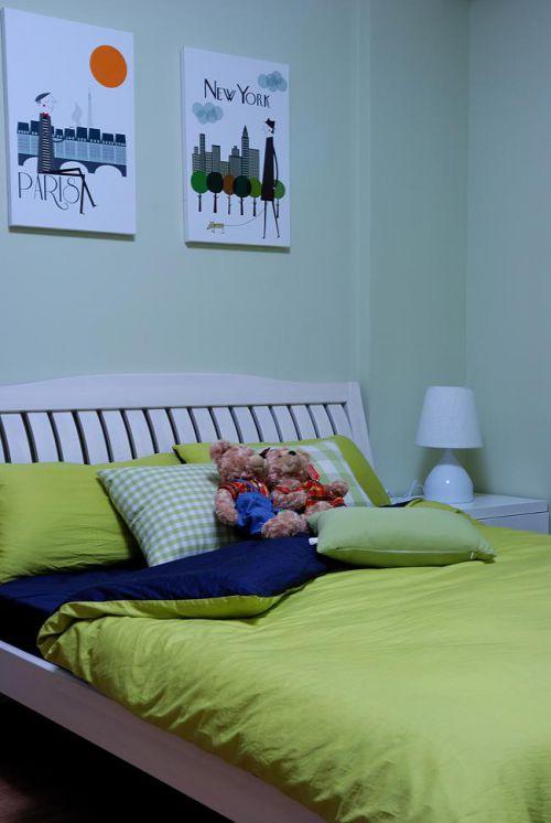 现代简约中式混搭儿童房装修图