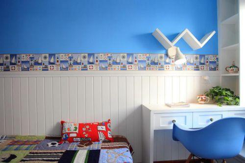 现代简约中式儿童房设计方案