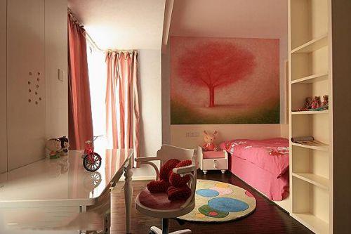 日式韩式混搭儿童房装修案例