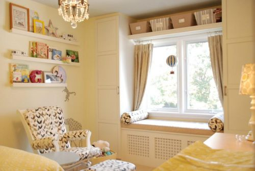 现代简约简欧儿童房飘窗&落地窗设计方案