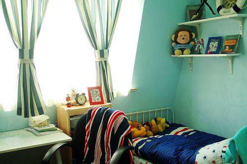 现代简约美式儿童房设计案例