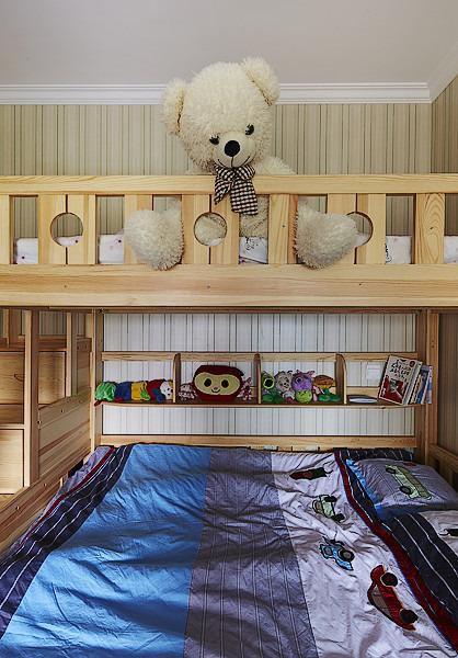 美式儿童房效果图
