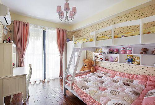 现代简约美式儿童房设计图