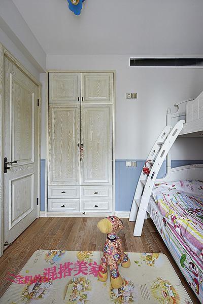 美式混搭复古儿童房装修图